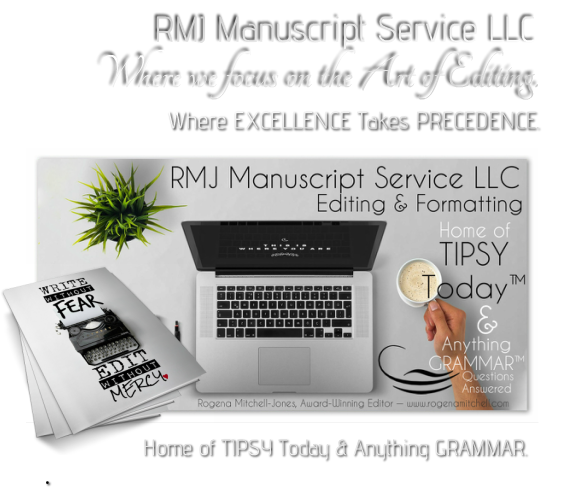 Manuscript editing services typing