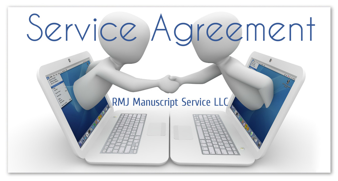 Service Agreement - Rmj Manuscript Service, Rogena Mitchell